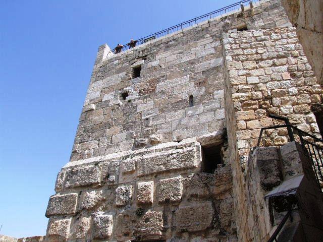 イスラエル紀行(60) ダビデの塔 その1_c0011649_0414738.jpg