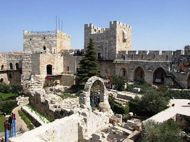 イスラエル紀行(60) ダビデの塔 その1_c0011649_051213.jpg