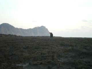 八丈紀行 ⑧ 南原千畳岩海岸の夕日_c0118352_2495967.jpg