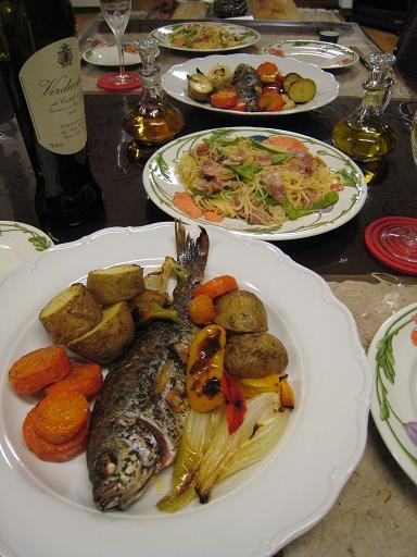 オーブン料理は簡単で美味しい!_c0119197_8383847.jpg