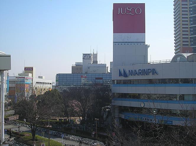 稲毛海岸駅前JUSCO_e0004218_21105981.jpg