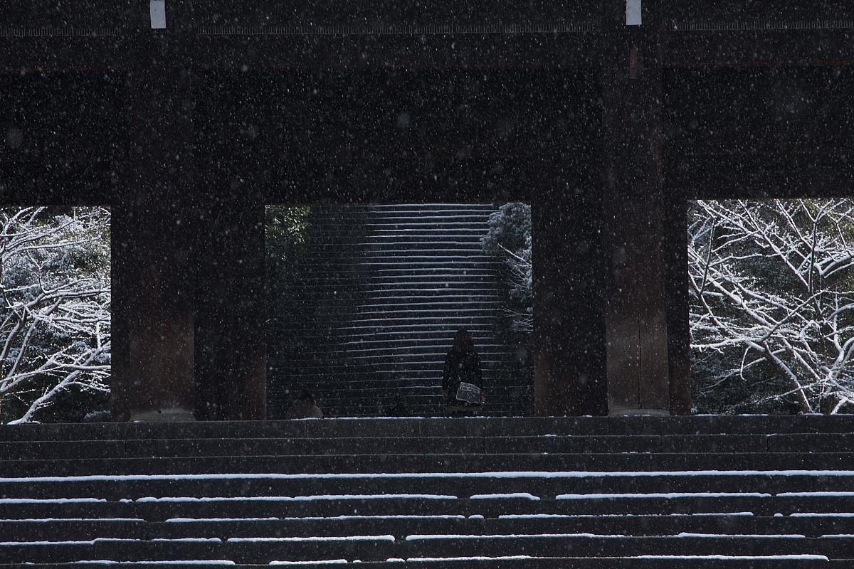 京都 雪景色 <東山> 11_f0021869_10374722.jpg