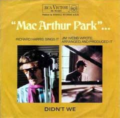 MacArthur Park by Richard Harris その2_f0147840_22521623.jpg