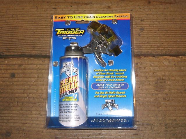 WHITE LIGHTNING Trigger Chain Cleaning System_e0132852_16333231.jpg