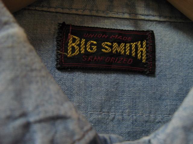 SEARS シャンブレー & BIG SMITH_c0144020_14292234.jpg