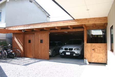 木造ガレージ_e0074935_17103212.jpg