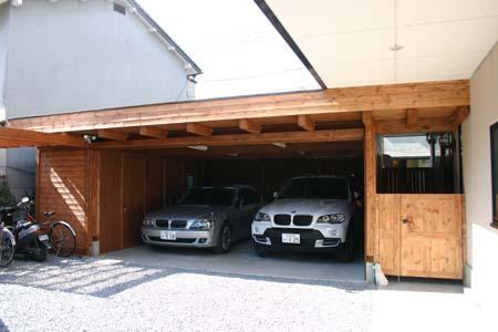 木造ガレージ_e0074935_17104843.jpg