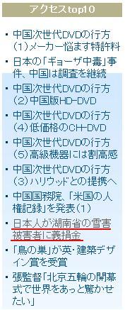 湖南雪害募金活動の写真 人民網日本語版アクセス7位に_d0027795_1715821.jpg