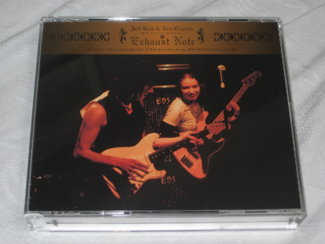 JEFF BECK AND ERIC CLAPTON / EXHAUST NOTE_b0042308_23491737.jpg