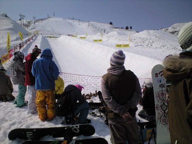 上越国際スキー場にて_c0151965_23384525.jpg
