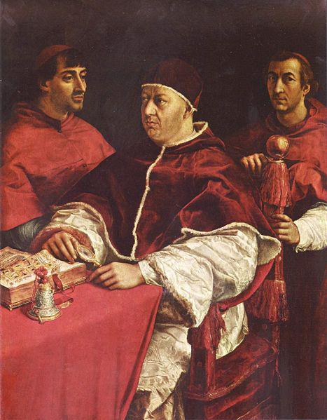 ローマ教皇と偽肖像画事件~ラファエッロ作「レオーネ10世と二人の枢機卿」_f0106597_18532094.jpg