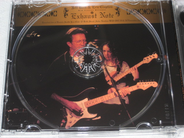 JEFF BECK AND ERIC CLAPTON / EXHAUST NOTE_b0042308_04526.jpg