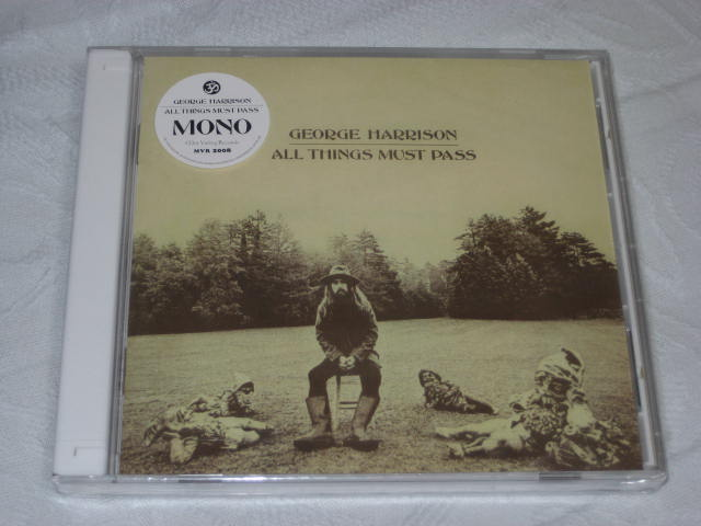 GEORGE HARRISON / ALL THINGS MUST PASS (MONO)_b0042308_2313169.jpg