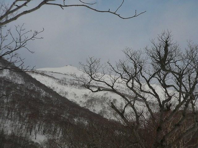 3月16日、目国内岳で山スキー_f0138096_1637133.jpg