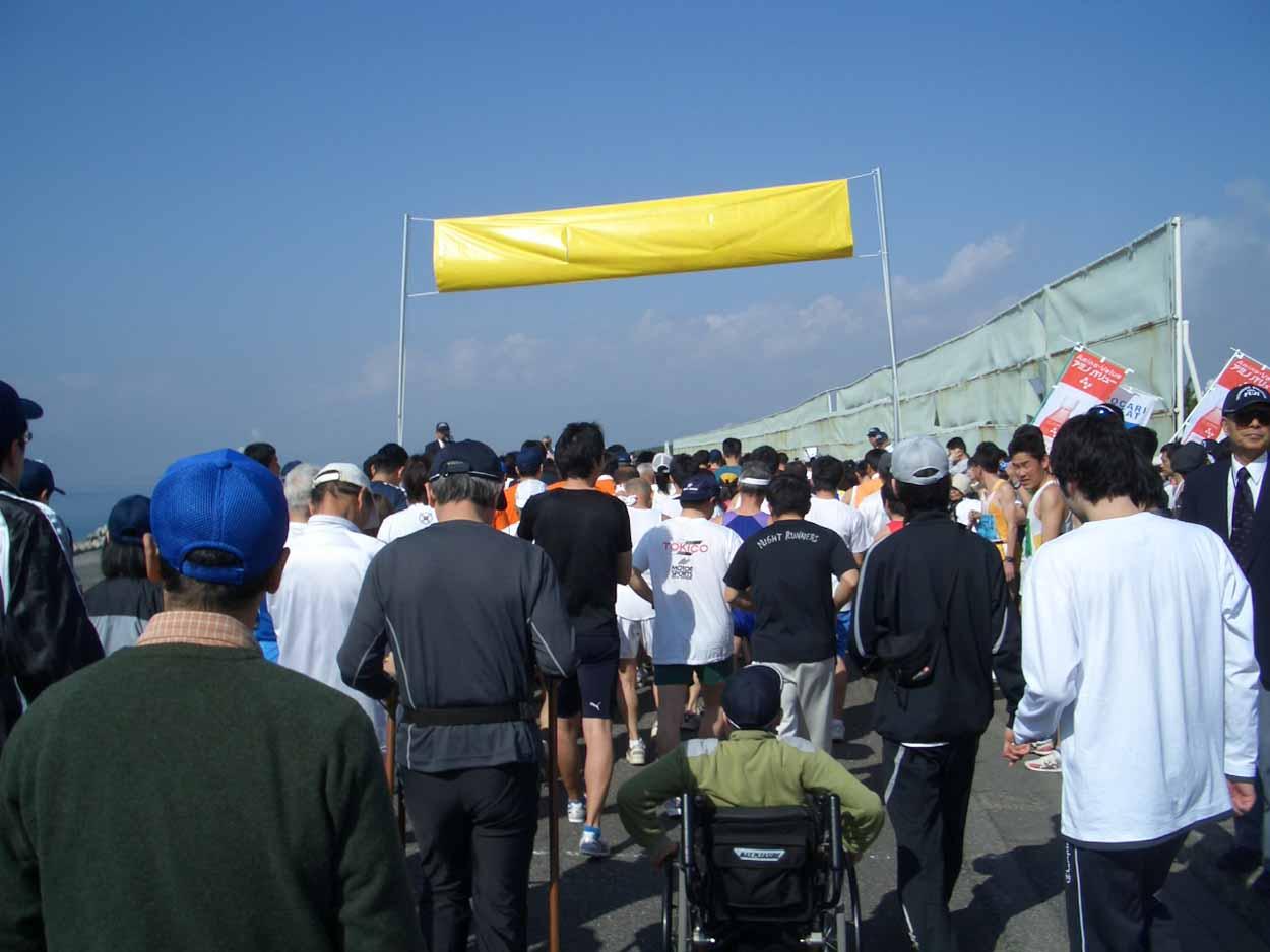 ポールウォーキングで参加した「富士田子の浦マラソン大会」_f0141310_23322510.jpg