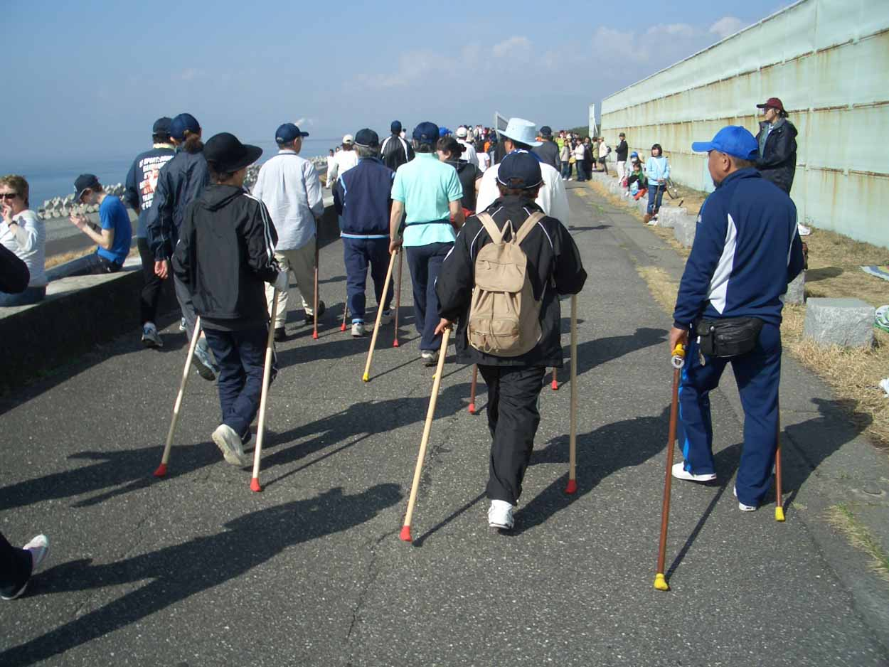 ポールウォーキングで参加した「富士田子の浦マラソン大会」_f0141310_23323322.jpg