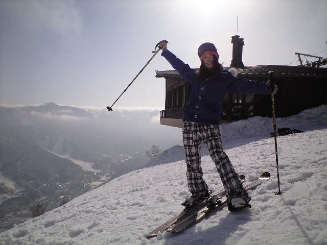 亜紀子スキーに挑戦っ_c0151965_11172911.jpg