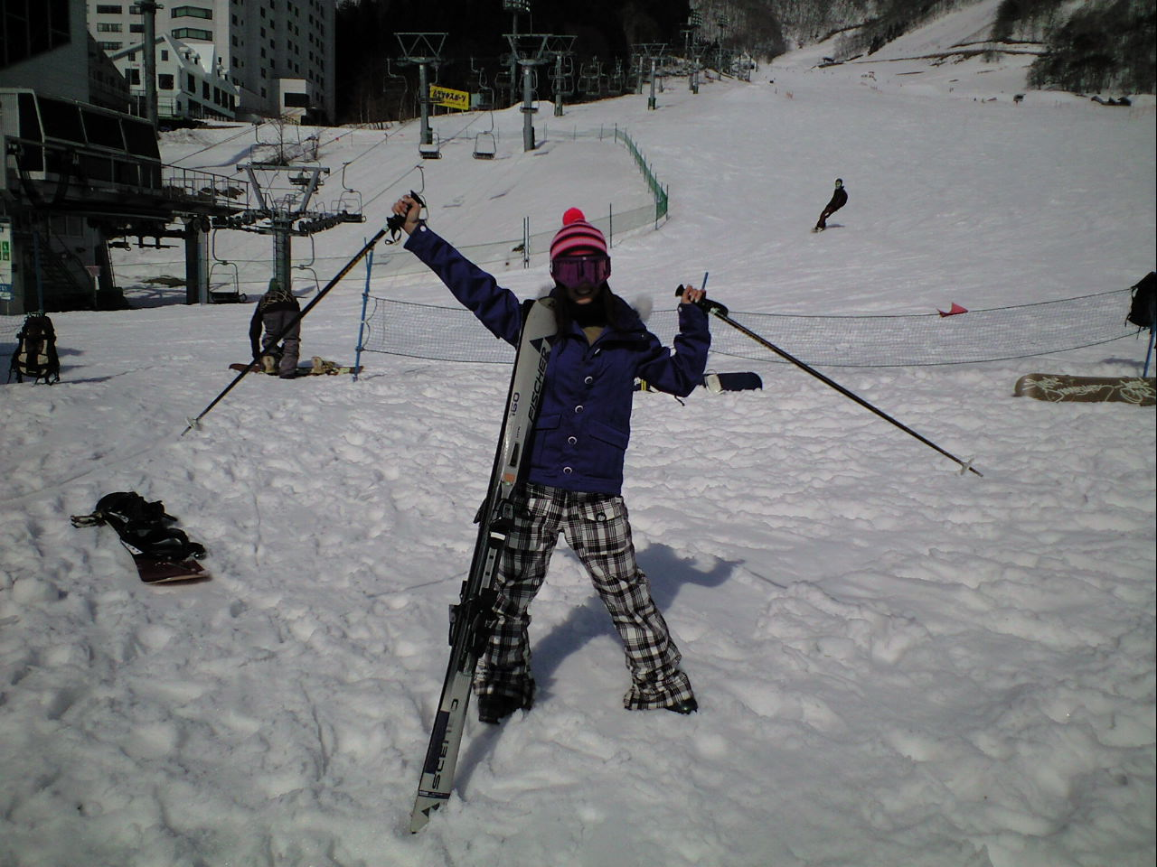 スキー(^-^)/_c0151965_15564929.jpg
