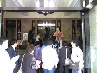Here is the popular MIYAZAKI Pref. Office 宮崎県庁へ Part1_e0142585_8135390.jpg