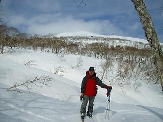 3月16日、目国内岳山スキーその2_f0138096_14182760.jpg