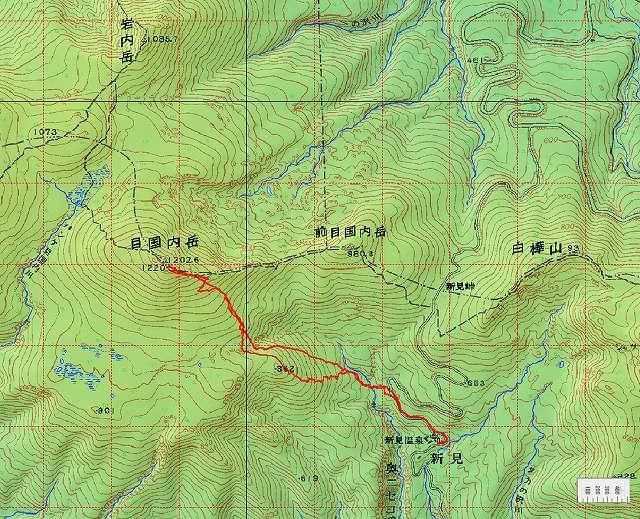 3月16日、目国内岳山スキーその2_f0138096_1419029.jpg