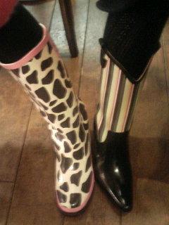 ふたりの長靴。_f0064823_20295323.jpg