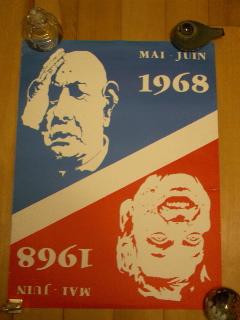 68年5月革命ポスター MAI-JUIN 1...