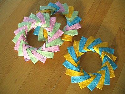 ハート 折り紙 折り紙鍋敷き作り方 : horsemint.exblog.jp