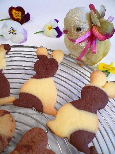 EasterのうさぎさんクッキーでMini Maria\'s Tea Cupオープンです * *。:☆.。†  _a0053662_2030238.jpg