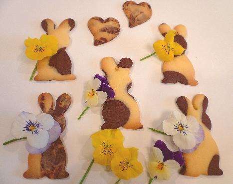 EasterのうさぎさんクッキーでMini Maria\'s Tea Cupオープンです * *。:☆.。†  _a0053662_2034138.jpg