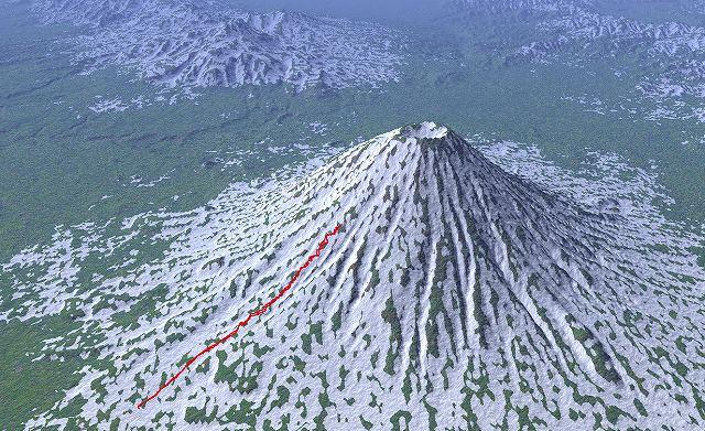 3月17日、ハプニングの羊蹄山山スキー_f0138096_12593618.jpg