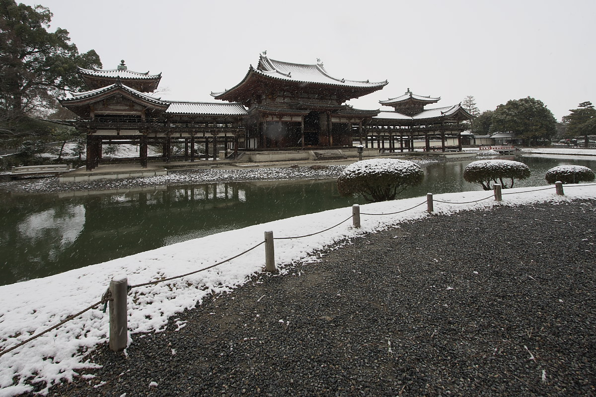 京都 雪景色 <宇治> 1 _f0021869_20191134.jpg