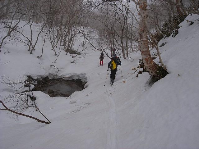 3月20日、野塚岳_f0138096_18344898.jpg