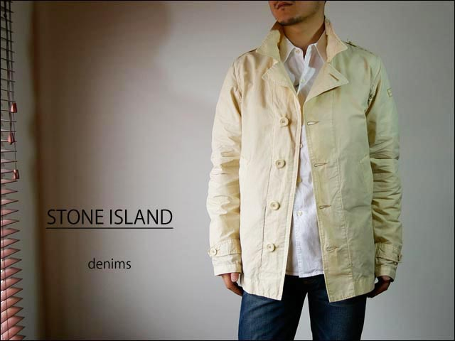 stone island denims/ストーンアイランドデニムス オフィサージャケット  48144801_f0051306_23182547.jpg