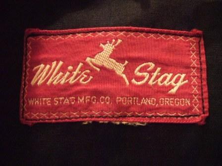 22日(土)入荷! 50'S 赤タグ 黒×ピンク WHITE STAG _c0144020_1846481.jpg