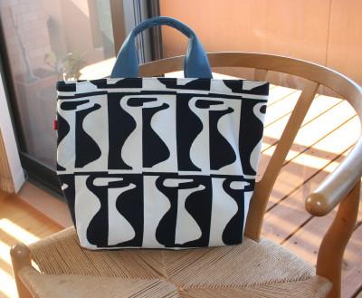 北欧風プリントのバッグ、その2_a0102486_9151090.jpg