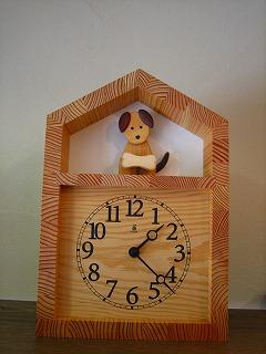 キコリさんの時計_b0100229_13424372.jpg