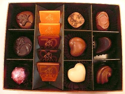 ゴディバのイースターエッグのチョコレートでHoly Saturday 聖土曜日。。。 *。:☆.。† _a0053662_11214186.jpg
