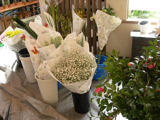 花展の準備で大忙し・準備風景_e0109554_14382732.jpg