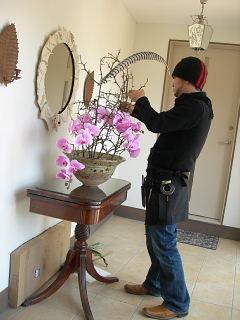 花展の準備で大忙し・準備風景_e0109554_14385097.jpg