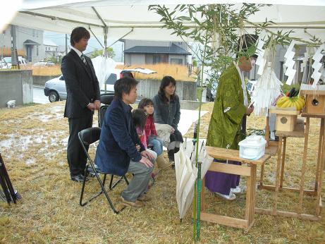 大野城市で地鎮祭!!_c0079640_100141.jpg