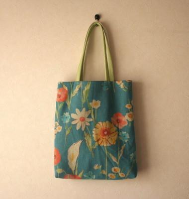 春まるまる花のバッグ_a0102486_9491886.jpg
