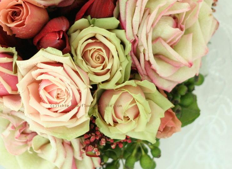 ブーケ 和装のための花 カルーセル_a0042928_2122594.jpg