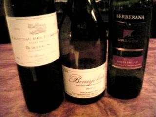 深夜のワイン会 in re・ci・pe_c0119937_187158.jpg