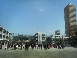卒業式~駒大、駒小~_c0092197_20525581.jpg