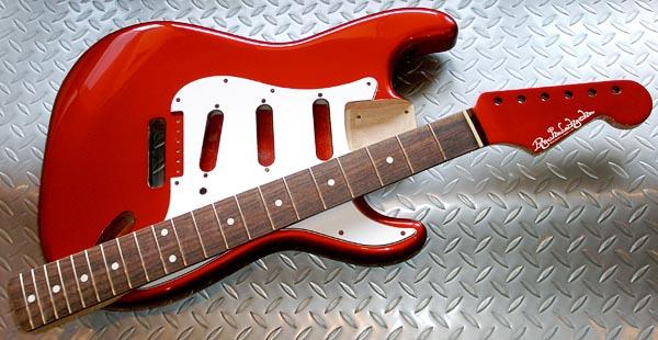 西山さんオーダーの「Moderncaster S」着色完了!_e0053731_19133262.jpg