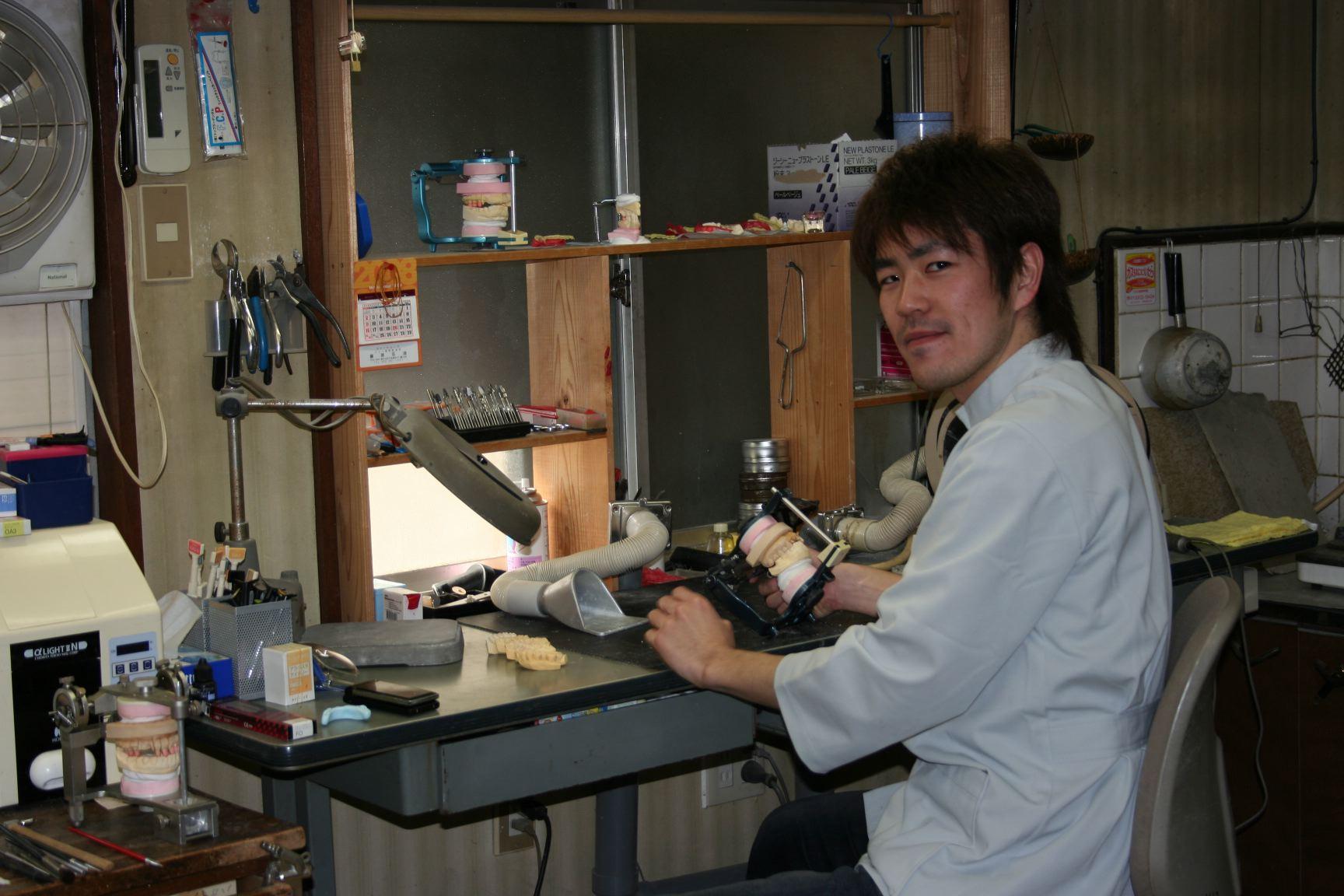 山本歯科医院、技工センター開設_b0119466_12201416.jpg