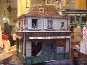 Dollhouse miniature old vintage working TV 1/12 scale Möbel für Puppenstuben & -häuser