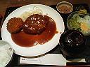 ザ・日本の洋食&ハンコ受取り_d0087642_23173564.jpg