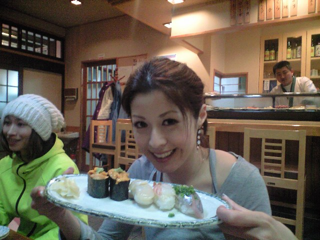 苗場で初めてのお寿司⭐️しらかば_c0151965_14544037.jpg